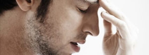 Photo of Man with Sinus Headache